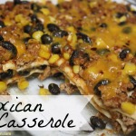 Homecoming Festivities + Mexican Casserole Recipe