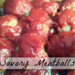 Tasty Tuesday: Savory Meatballs