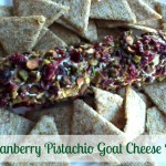 Tasty Tuesday: Cranberry Pistachio Goat Cheese Log