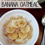 Tasty Tuesday: Peanut Butter Banana Oatmeal
