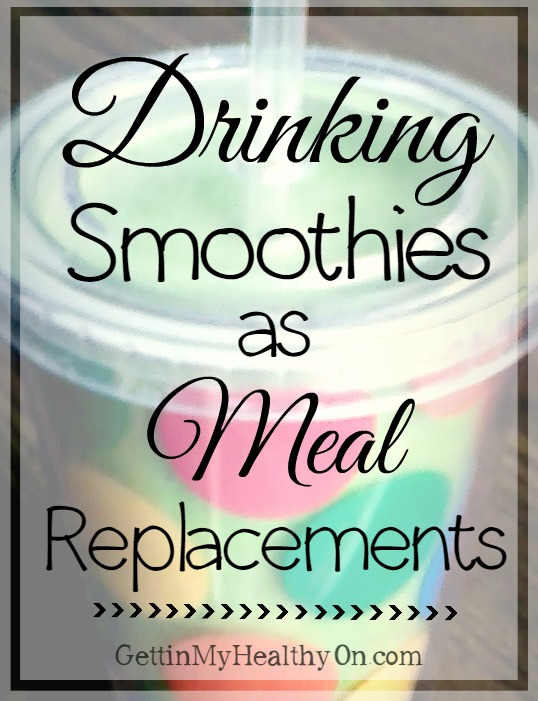 My Selection Of Meal Replacement Shakes For Weight Loss