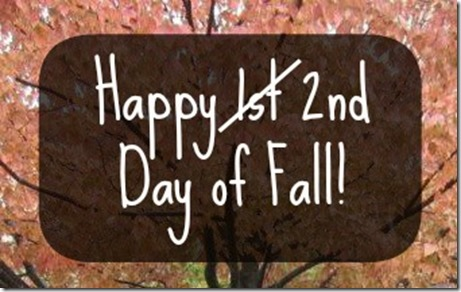 1st day of fall