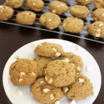 Tasty Tuesday: White Chocolate Pumpkin Pecan Cookies