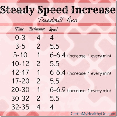 Steady Speed Increase