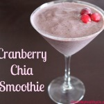 Cranberry Chia Smoothie Recipe