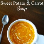 Creamy Sweet Potato & Carrot Soup