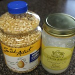 Making Popcorn with Coconut Oil + Giveaway Winner