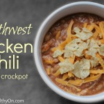 Southwest Chicken Chili in the Crockpot