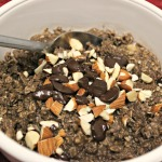 Dark Chocolate Almond Oatmeal