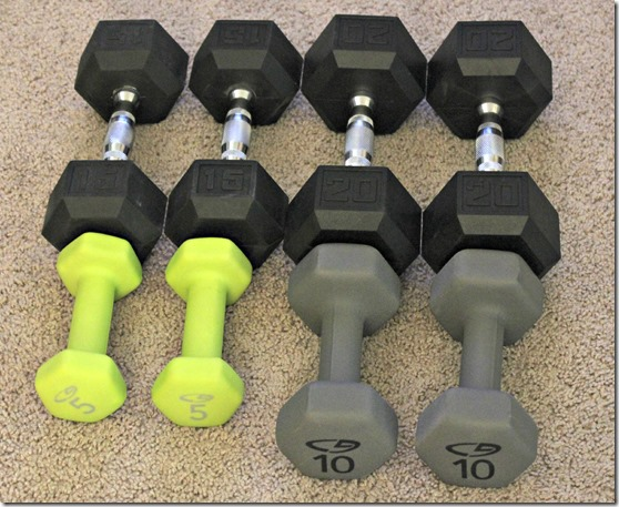 Our Growing Dumbbell Collection