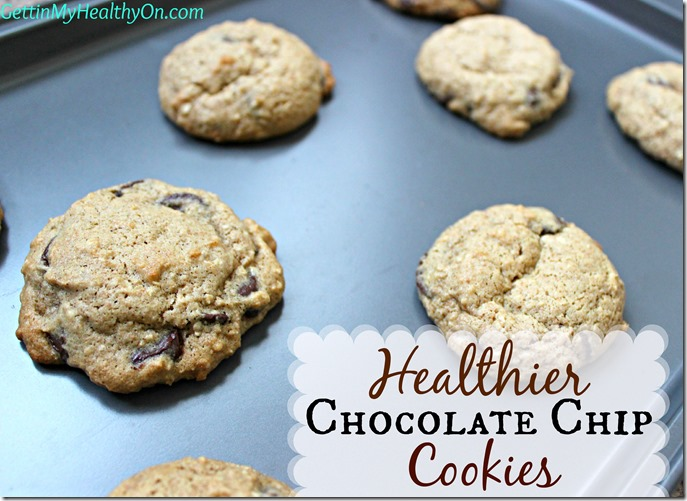 Healthier Chocolate Chip Cookies6