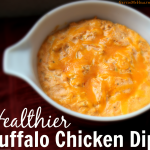 Healthier Buffalo Chicken Dip + Giveaway Winner