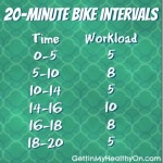 Damage Control After Horrible Holiday Eating + Interval Bike Workout
