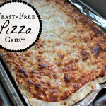 Easy, Yeast-Free Pizza Crust