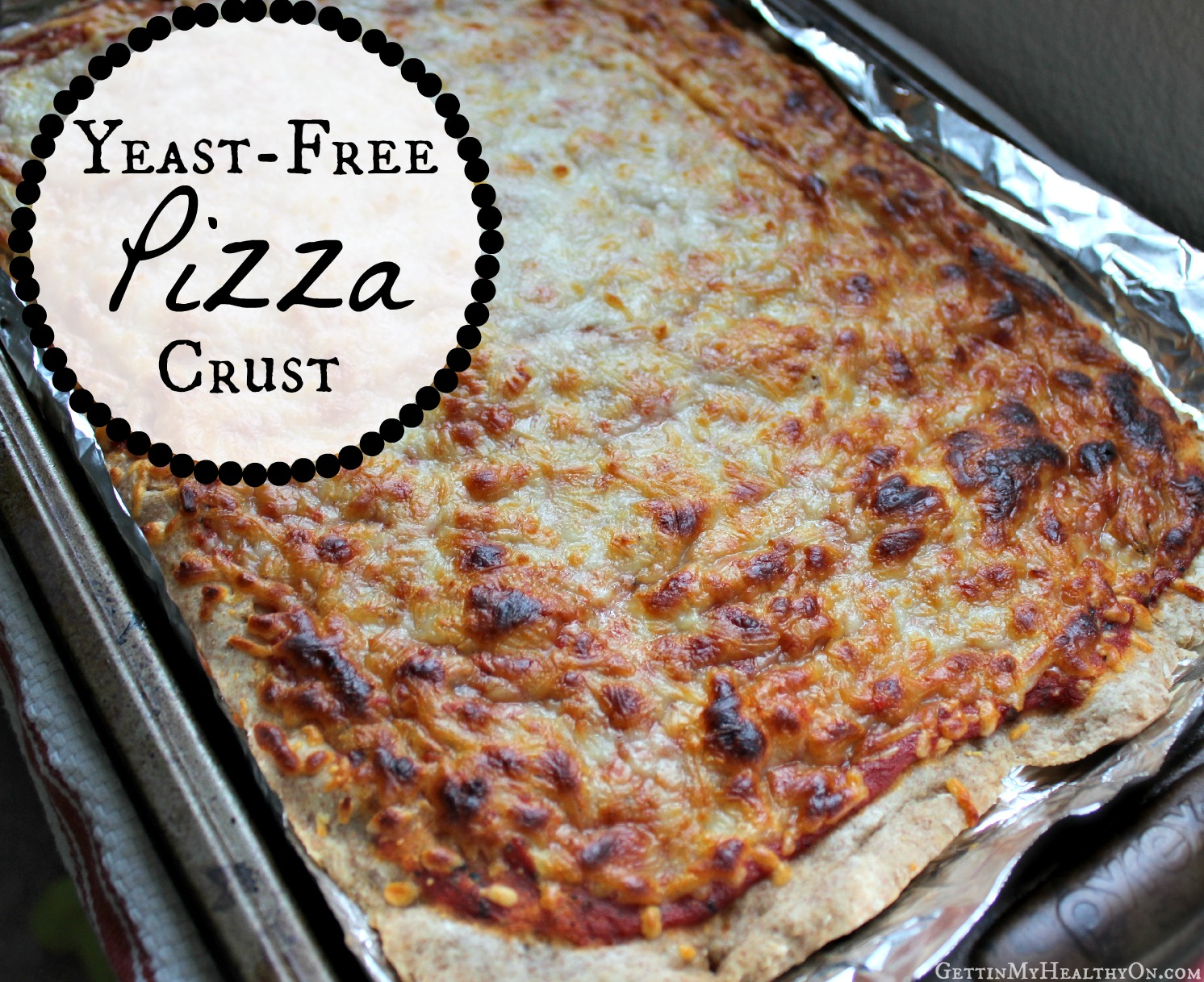 Yeast-Free Pizza Crust