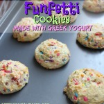 Greek Yogurt Funfetti Cookies