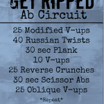 My Favorite Things + Get Ripped Ab Circuit
