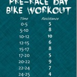 My Favorite Things + Pre-Race Day Bike Workout