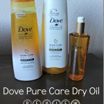 My Go-To Hairstyles + Dove Pure Care Dry Oil Review