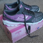 Breast Cancer Awareness with Skechers GOrun 3 Shoes