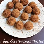 Chocolate Peanut Butter Protein Balls with GNC PUREDGE