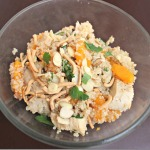 Crunchy Orange Chicken Quinoa Salad