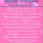 No-Equipment Buddy Workout