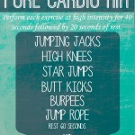 Pure Cardio HIIT Workout + My Favorite Things
