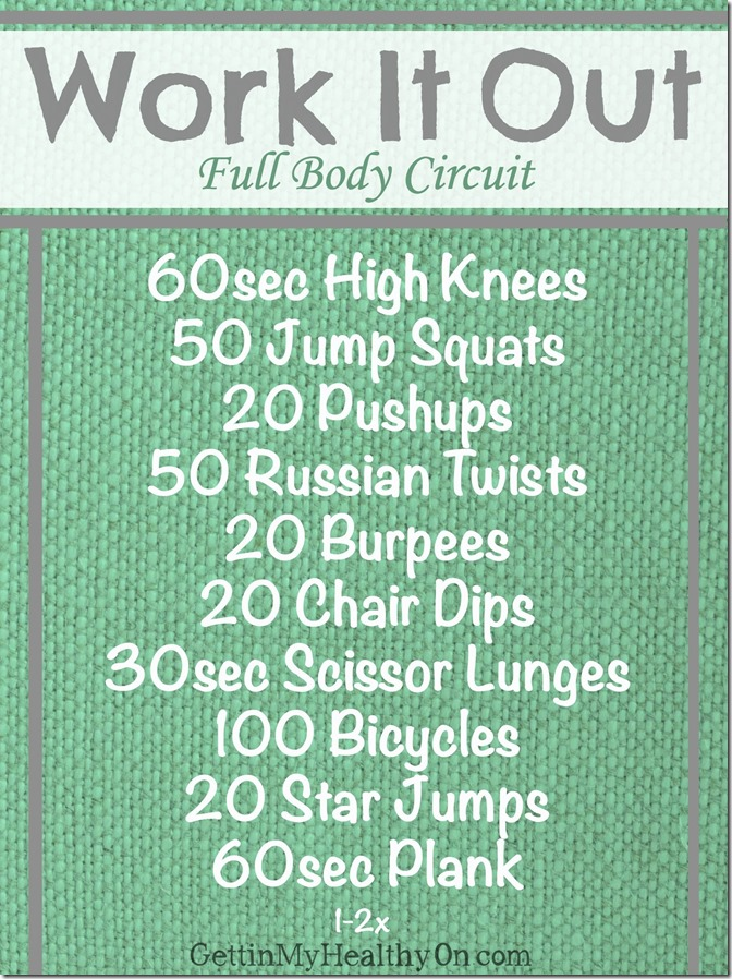 Work It Out Circuit