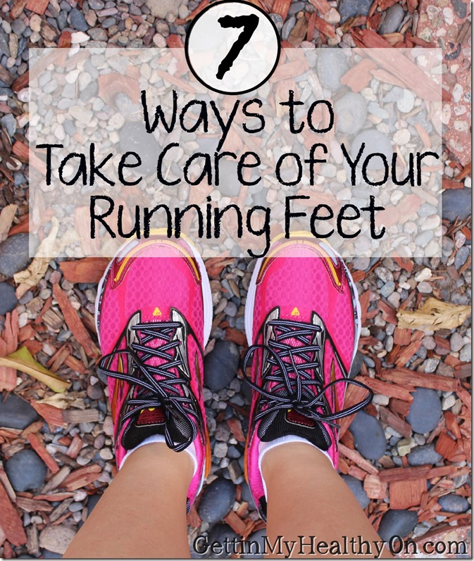 7 Ways to Take Care of Your Running Feet
