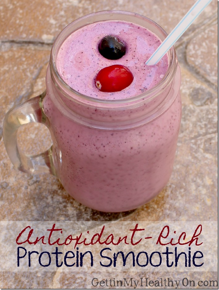 Antioxidant Rich Protein Smoothie
