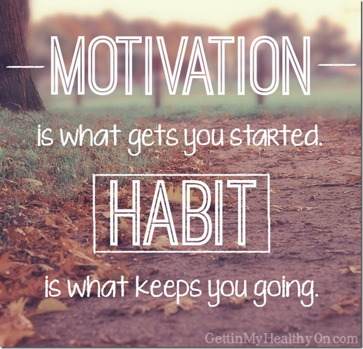 Motivation Gets Your Started