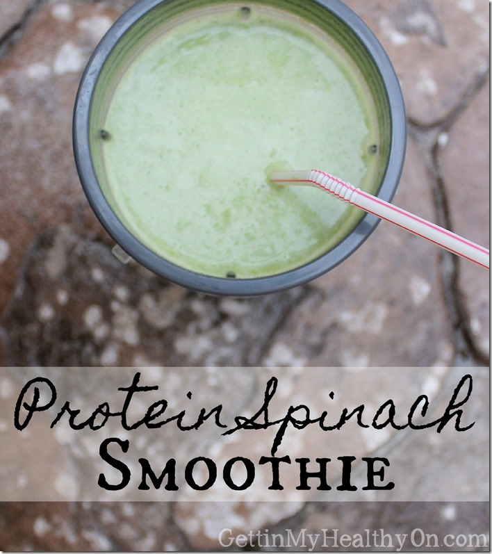 Protein Spinach Smoothie (2)