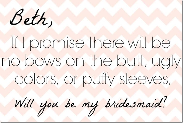 Cards to Ask Bridesmaids
