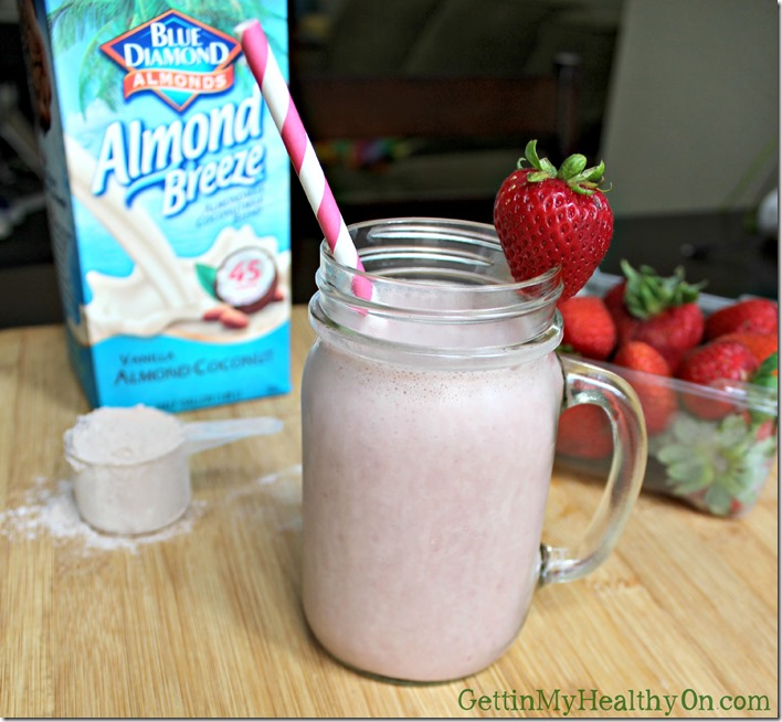 Strawberry Chocolate Shake