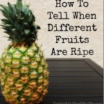 How to Tell If Fruit Is Ripe
