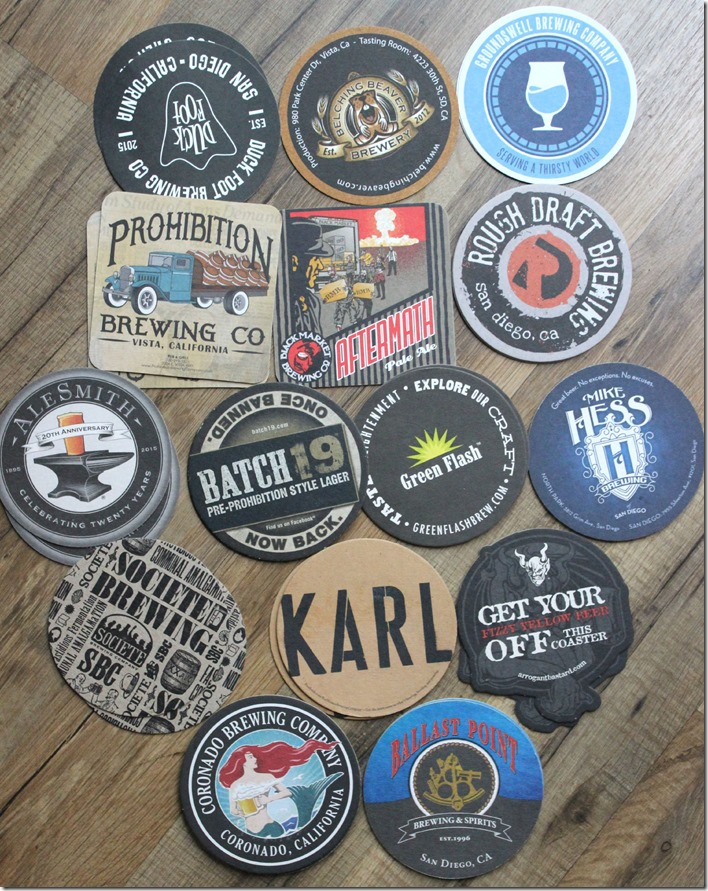 Brewery Coasters