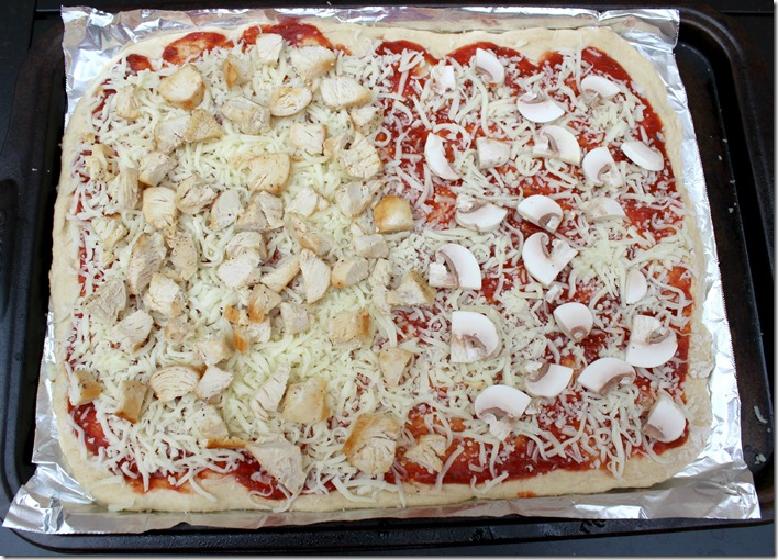Pizza on a Homemade Crust