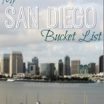 My San Diego Bucket List