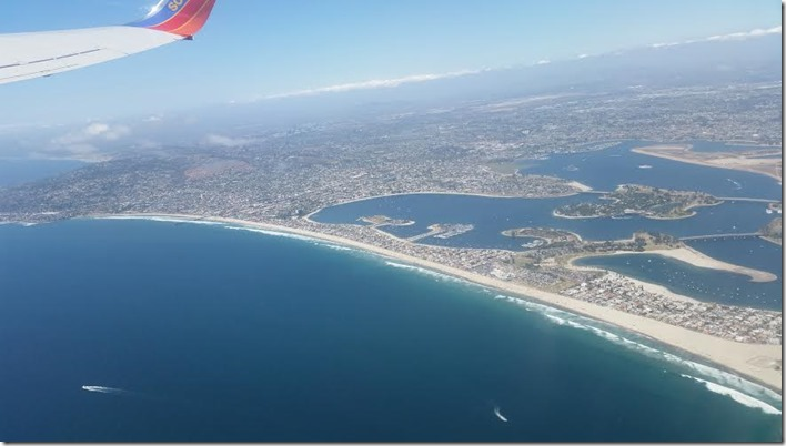 Birds Eye View of San Diego