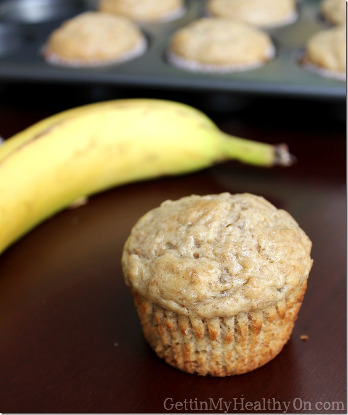 Bran Muffins with Banana