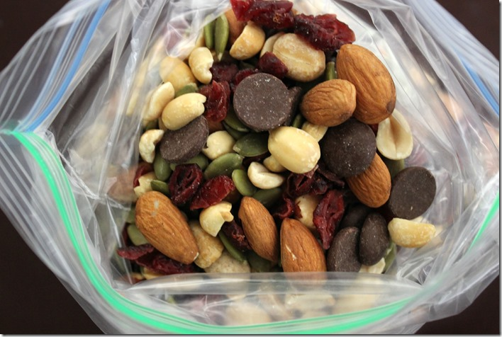 Fall Themed Trail Mix