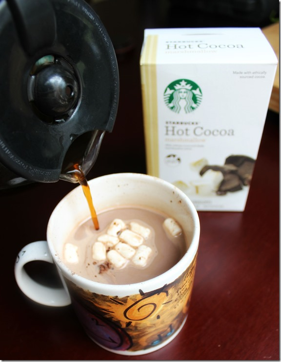 Coffee in Hot Cocoa