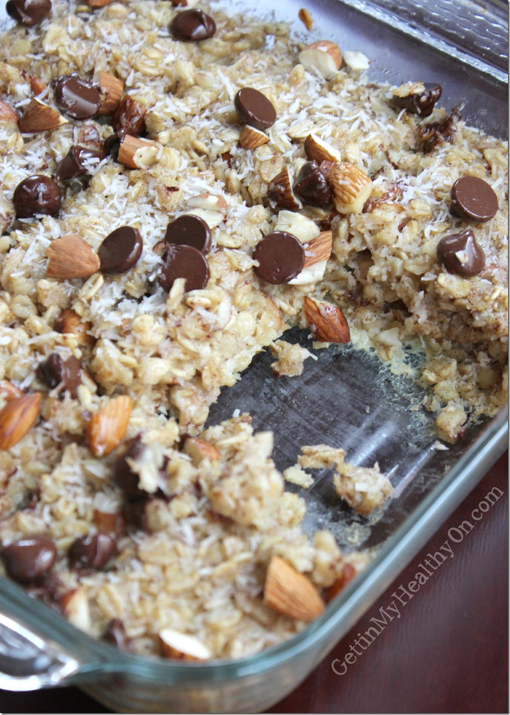 Almond Coconut Baked Oatmeal