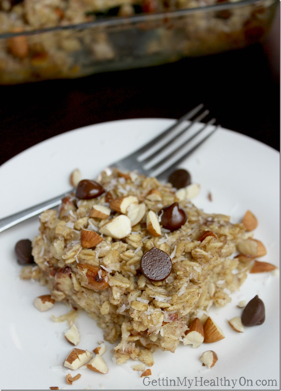 Chocolate Coconut Almond Oatmeal