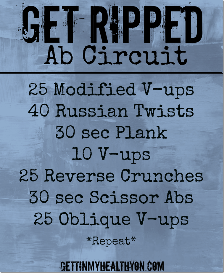 Get Ripped Ab Circuit