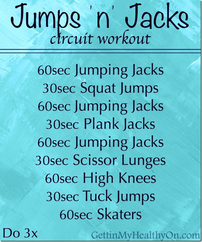 Jump n Jacks Circuit Workout