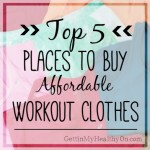 Top 5 Places to Buy Affordable Workout Clothes