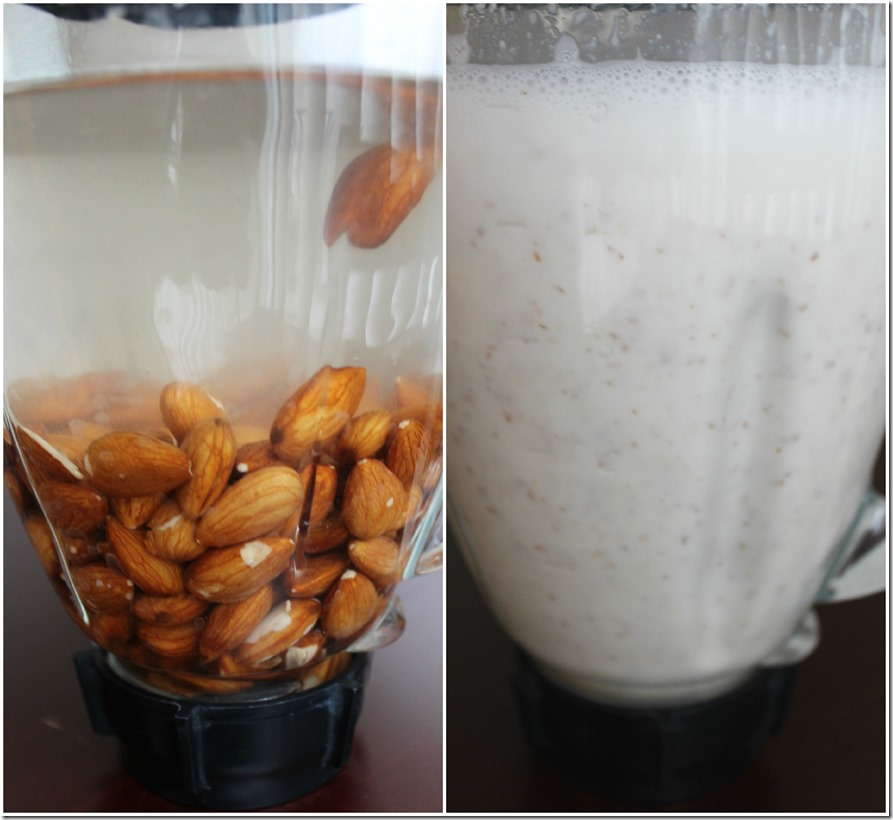 Almond Milk from Scratch
