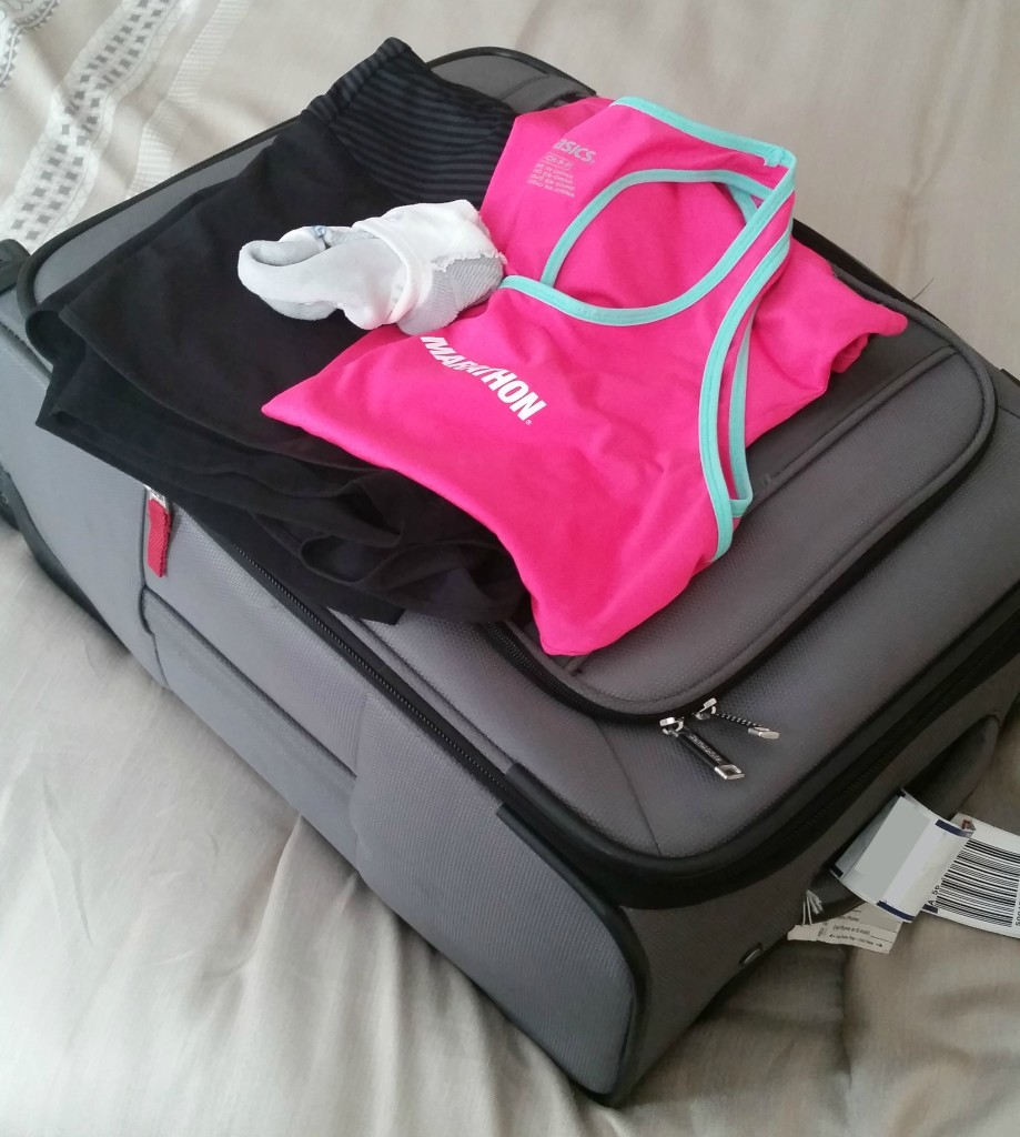 Bring a Set of Workout Clothes to Set Yourself Up for Workout Success over the Holidays when Traveling